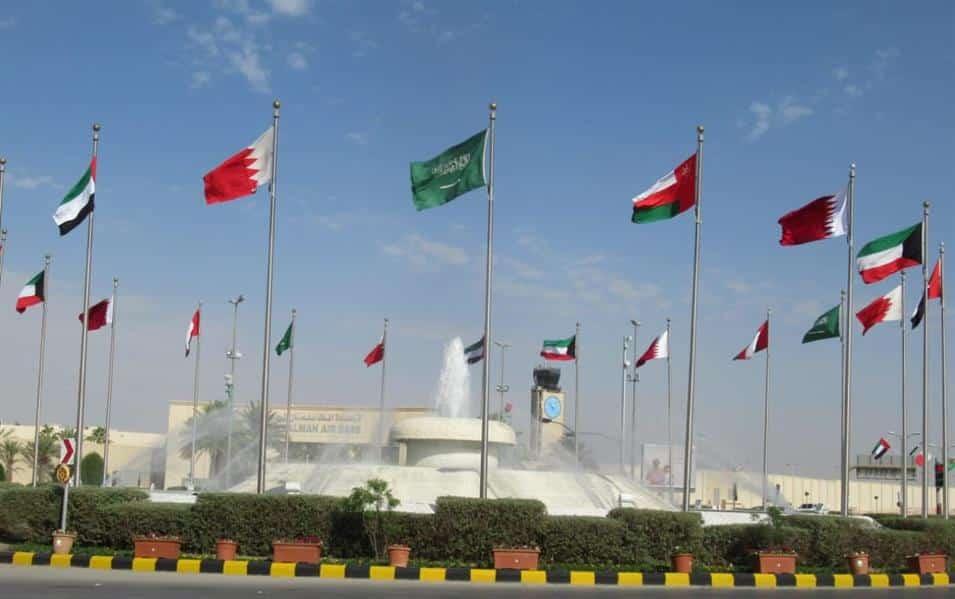 اعلام دول مجلس التعاون الخليجي