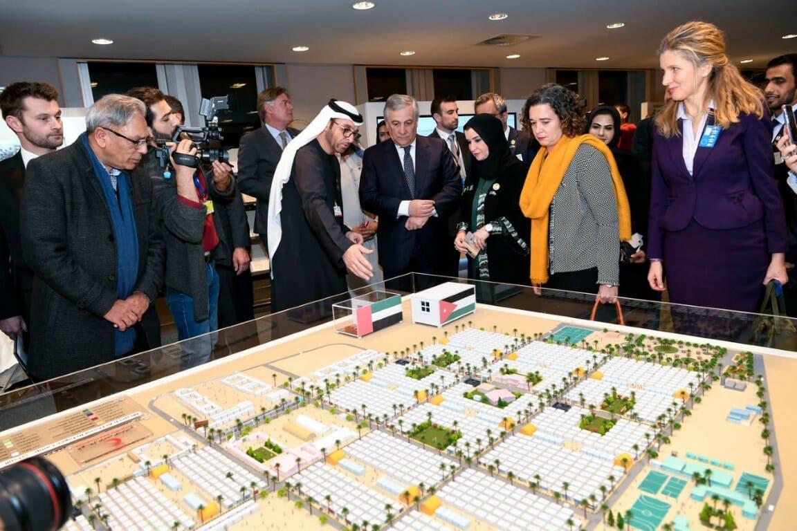 المعرض الذي نظمته الإمارات في البرلمان الأوروبي