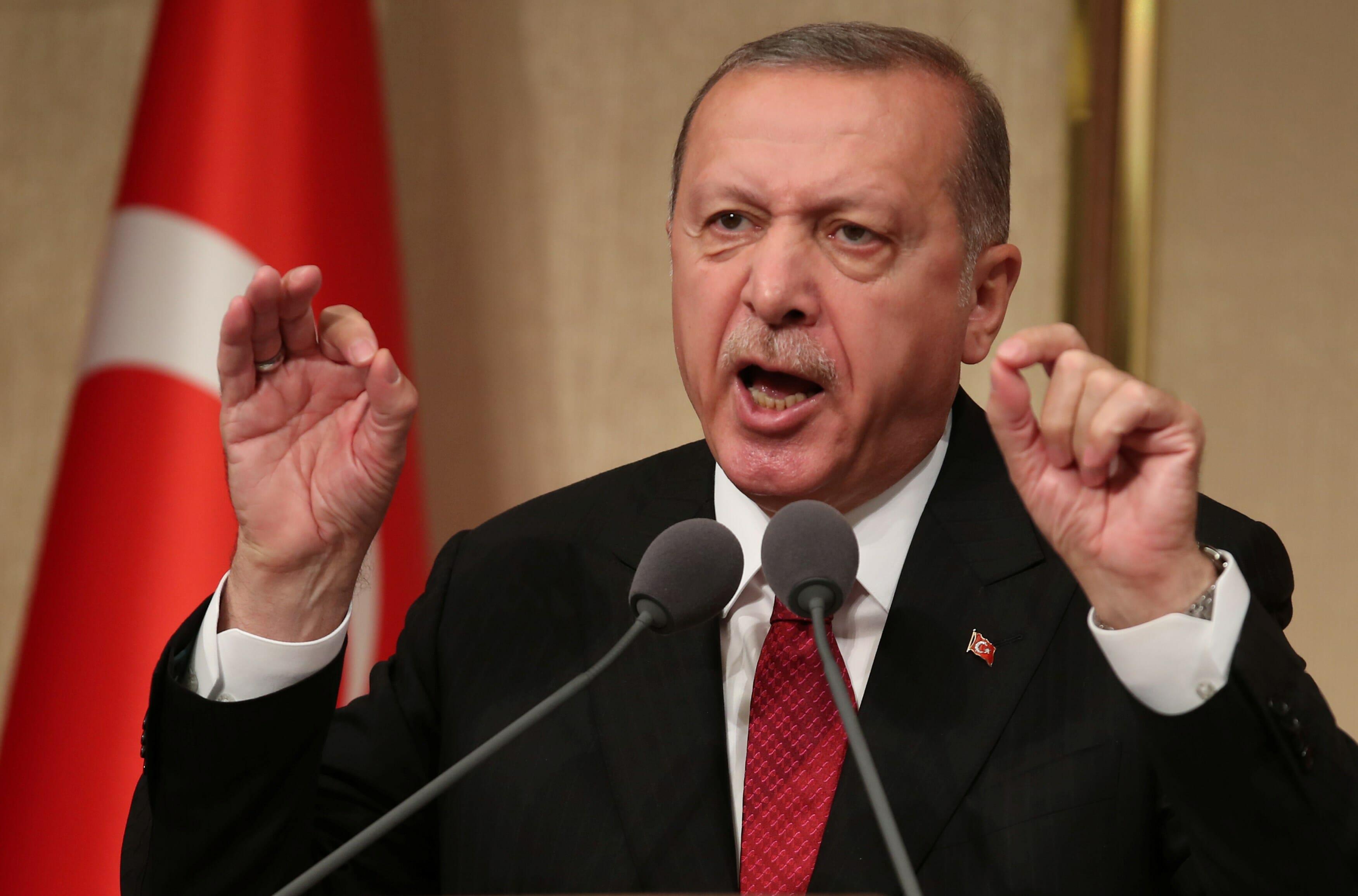 رجب طيب أردوغان رئيس تركيا