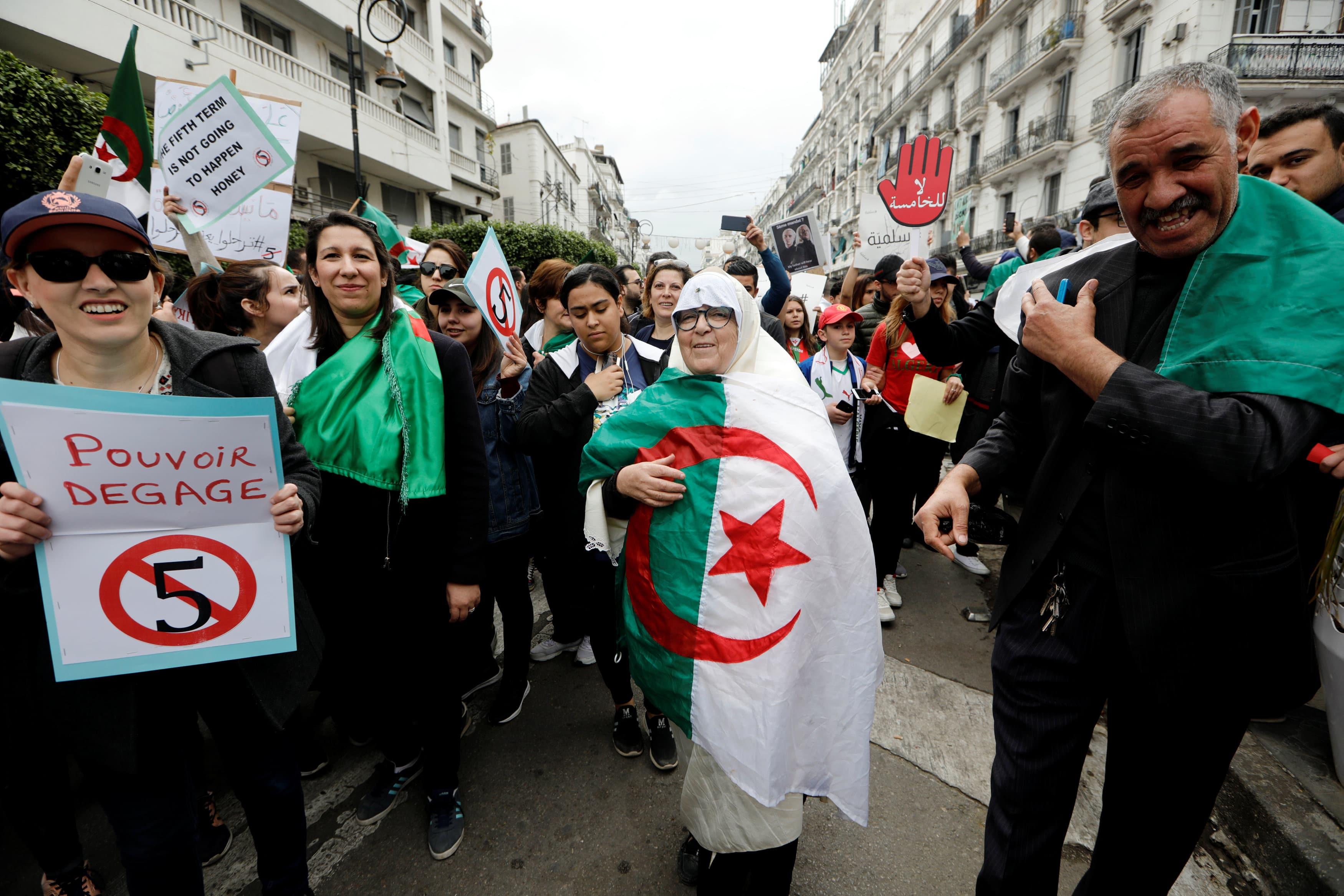 ثورة ضد بوتفليقة