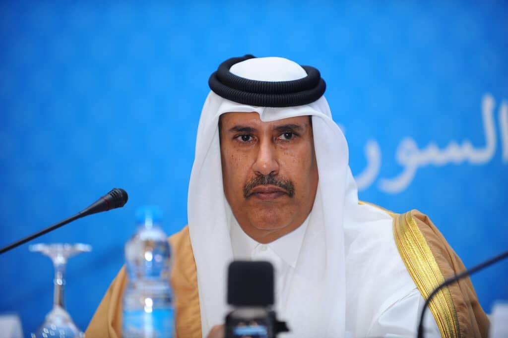 """حمد بن جاسم يكشف """"سر"""" زيارة أمير قطر الأولى والمفاجئة إلى إيران: هامة التوقيت والدلالة"""