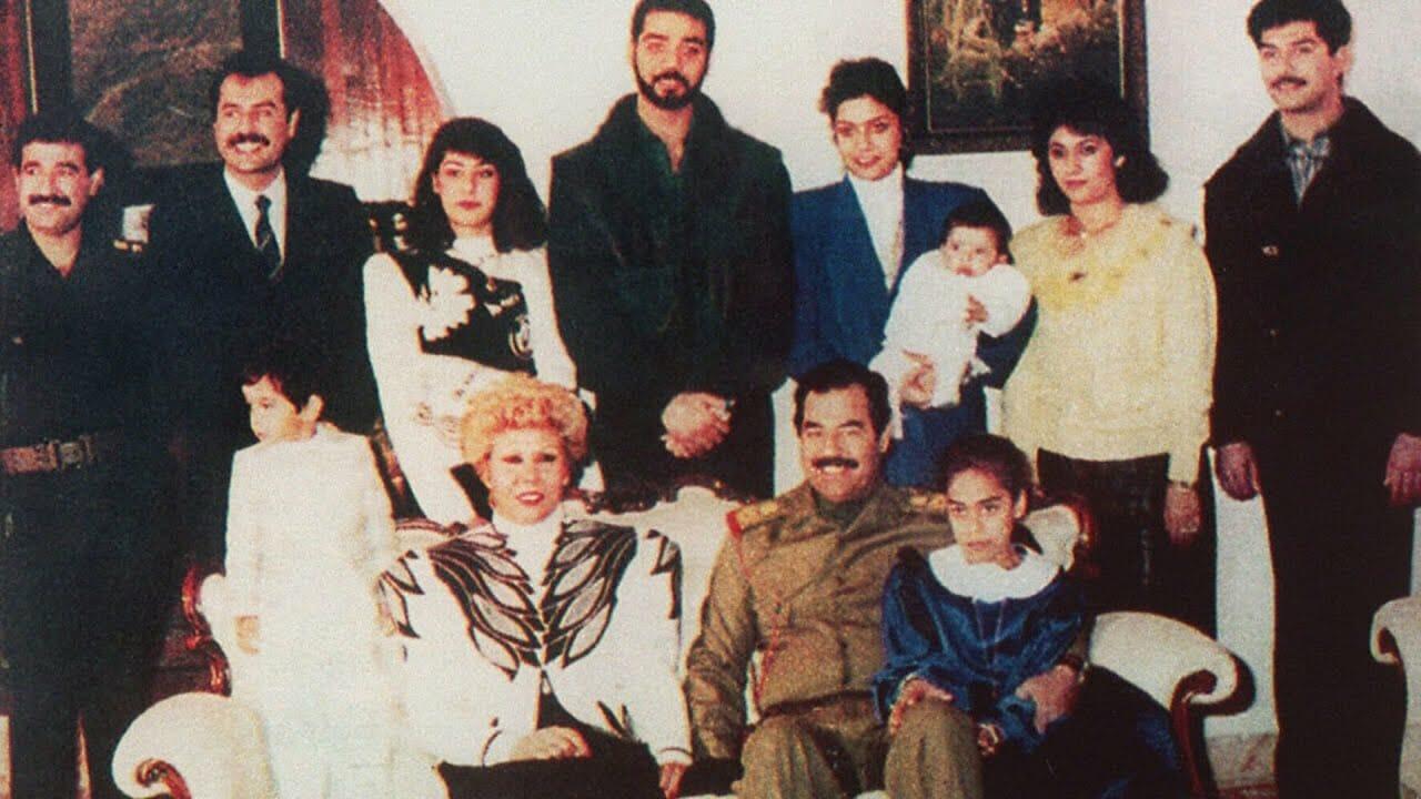 صدام حسين وأحفاده