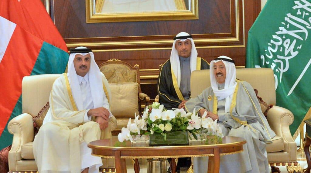 هذه الرسالة أرسلتها قطر إلى الكويت فيها شرط الدوحة لحل الخلاف مع السعودية