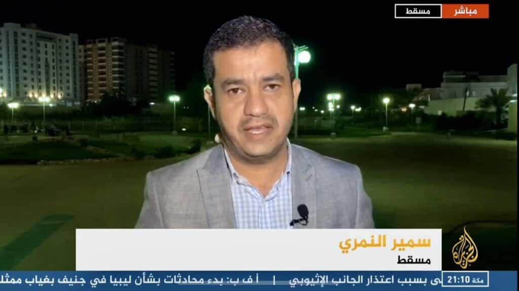 """مراسل """"الجزيرة"""" في سلطنة عمان سمير النمري يكشف تفاصيل اعتقال الحوثيين لوالده"""