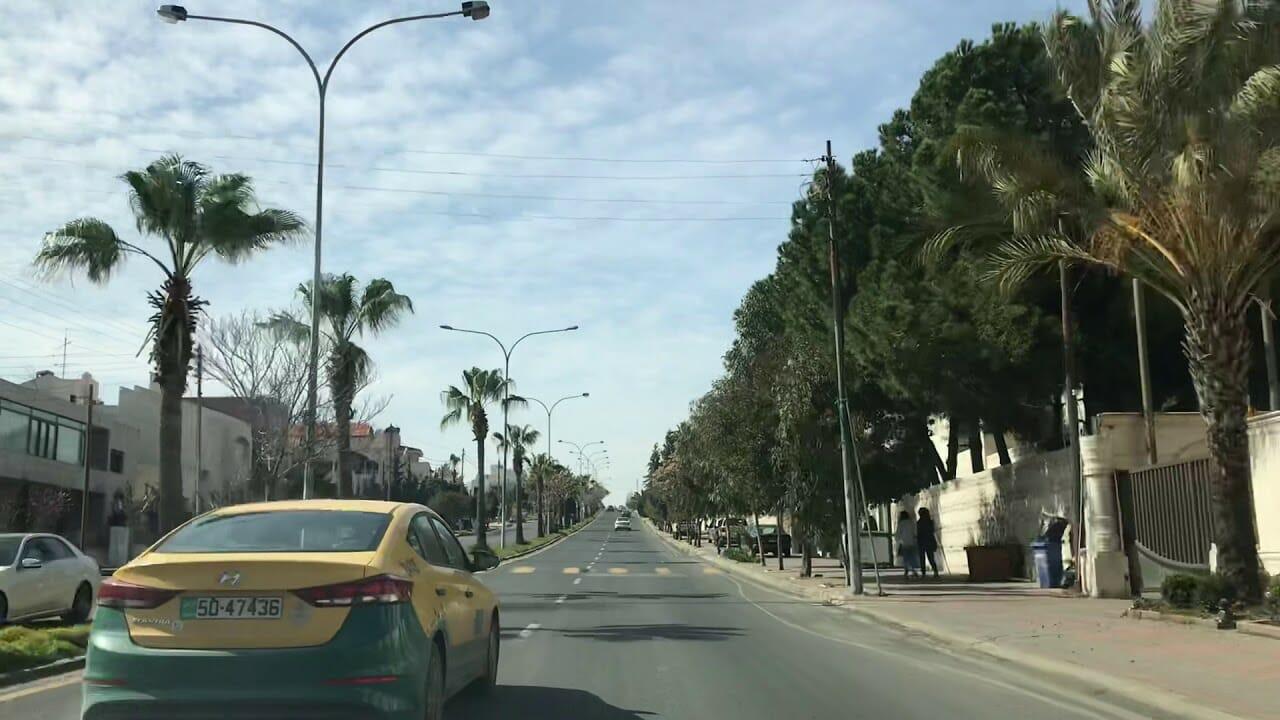 منطقة عبدون بالعاصمة الأردنية عمان