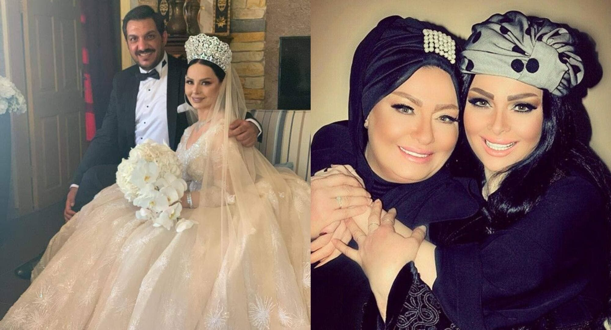 """""""شاهد"""" ما الذي حدث لوالدة ديانا كرزون خلال حفل خطوبتها على الإعلامي معاذ العمري؟"""