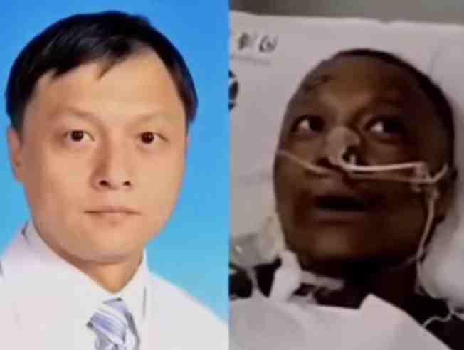 """""""شاهد"""" أمر مُرعب حدث لوجه أطباء صينيين بعد إصابتهم بكورونا .. هذا هو السبب"""