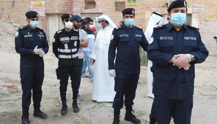 الشرطة الكويتية جريمة المهبولة
