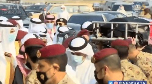 Emir von Kuwait Nawaf Al-Ahmad Beerdigung von Sheikh Sabah Al-Ahmad