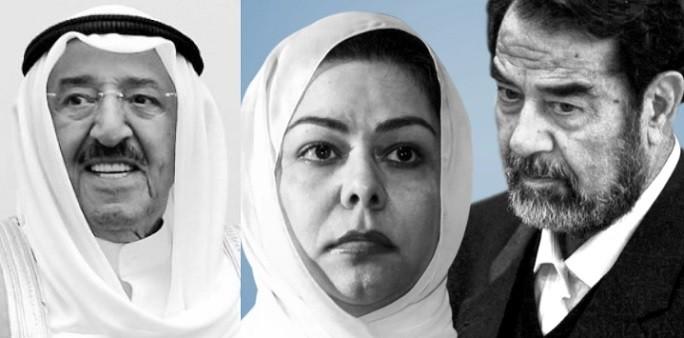 """""""شاهد"""" رغد صدام حسين تُشعل المواقع بتغريدة عن وفاة أمير الكويت الشيخ صباح الأحمد"""