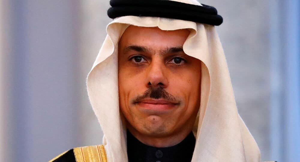 وزير خارجية السعودية في تصريح للاستهلاك الإعلامي فقط: ندعم فلسطين بكل قوة ولا علاقة لنا بإسرائيل