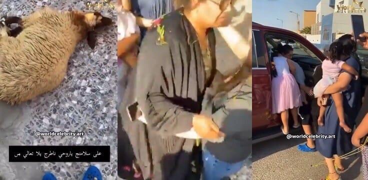 """""""شاهد"""" كيف ظهرت هيا الشعيبي بعد الإفراج عنها من السجن بسبب الفيديو الإباحي!"""