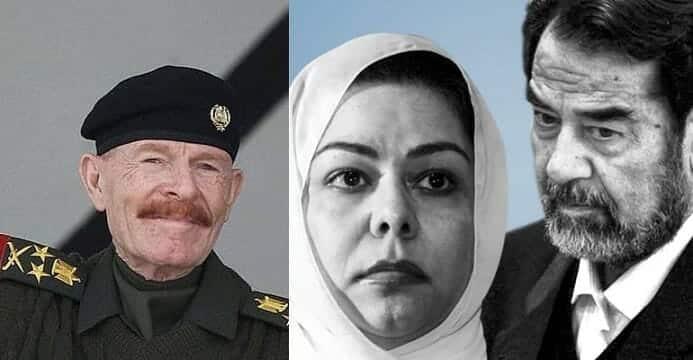 """""""شاهد"""" هذا ما قالته رغد صدام حسين عن """"شيخ مجاهدي العراق"""" عزة الدوري ذراع والدها الأيمن بعد تأكيد وفاته"""