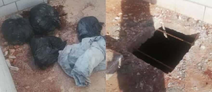 زوج لبناني يقتل زوجته ويقطعها ويضعها في أكياس قب انتحاره - جريمة قتل