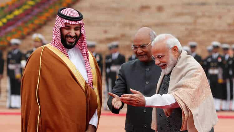 ابن سلمان يثير جنون الهند.. الخارجية السعودية لم ترد على خطاب رسمي احتجاجاً على ورقة نقدية من فئة 20 ريالاً