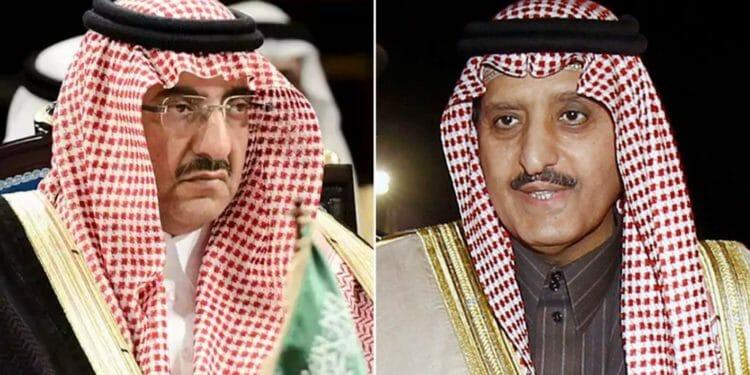 """""""شاهد"""" كيف ظهر الأمير أحمد بن عبدالعزيز مع أخيه المريض طلال في صورٍ جديدة؟؟"""