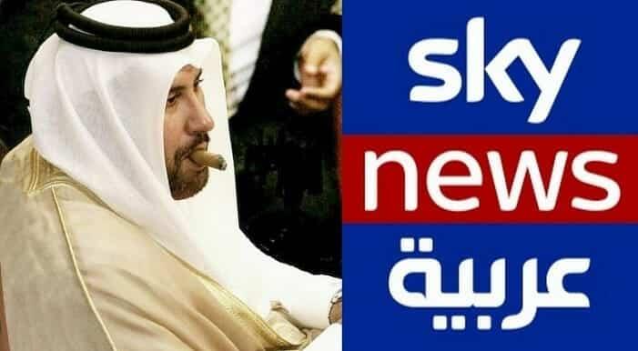 """""""قطر أصابت حكام الإمارات بالجنون"""" .. """"سكاي نيوز"""" مرعوبة: حمد بن جاسم الرئيس الاميركي المقبل!"""