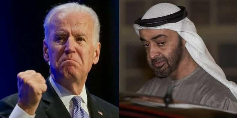 محمد بن زايد - بايدن - انتخابات الرئاسة الأمريكية-مجلس الشيوخ الإمارات