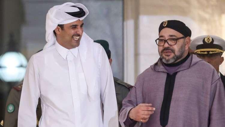 اتصال سيزعج الرياض وأبوظبي بين الملك محمد السادس والأمير تميم بن حمد وهذا ما دار بينهما