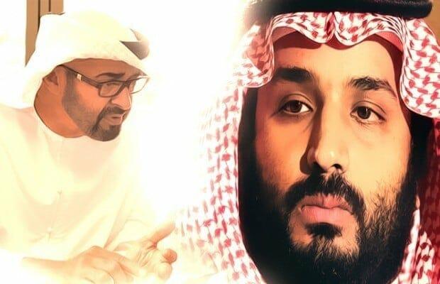 محمد بن زايد و محمد بن سلمان ، الرياض-مشاورات اتفاق الرياض حصار قطر