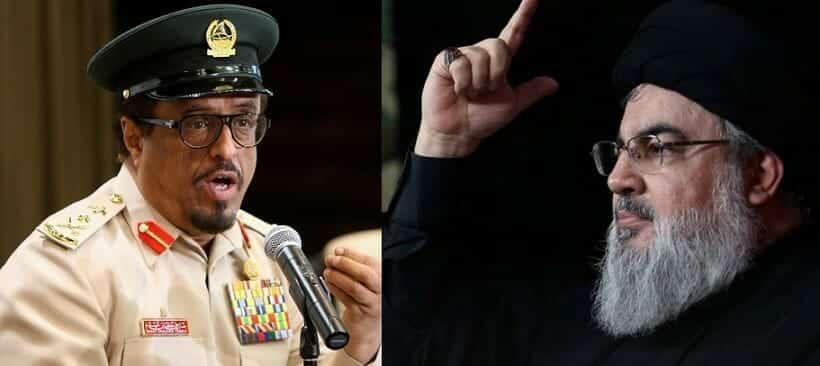 """""""سلّم تسلم .. انتهى المزاح يا ابوعلي"""" .. حارس بارات دبي """"ضاحي خلفان"""" يتحدث عن اغتيال حسن نصرالله!"""