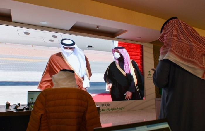 """""""عودة كاملة للعلاقات مع قطر"""".. """"شاهد"""" بيان عاجل لوزير خارجية السعودية سيتسبب لابن زايد بأزمة قلبية"""