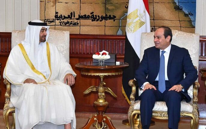 السيسي ومحمد بن زايد