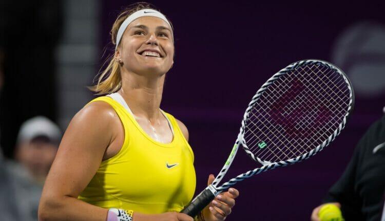 لاعب التنس أرينا سابالينكا