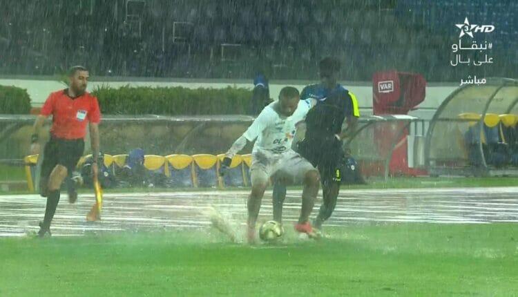 مباراة الرجاء المغربي أمام منافسه تونغيت السنغالي