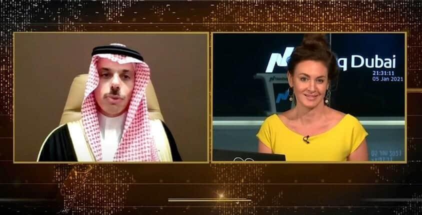 بطريقة خبيثة .. شاهد ماذا سألت مذيعة أمريكية وزير الخارجية السعودية عن الشروط الـ13!