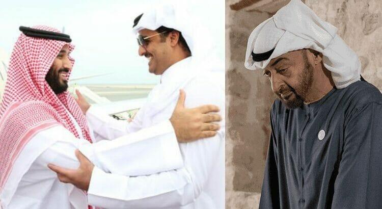 مقال في صحيفة العرب الممولة من الإمارات يدلل على أن محمد بن زايد لم يكن راضيًا على المصالحة