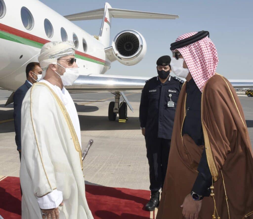 وزير داخلية سلطنة عمان في قطر .. لهدف أمني بين الدوحة ومسقط