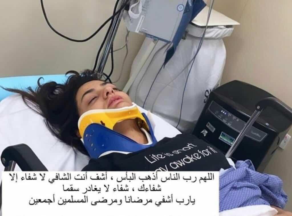 شاهد ماذا حدث للفنانة الأردنية دانة المساعيد في الكويت!