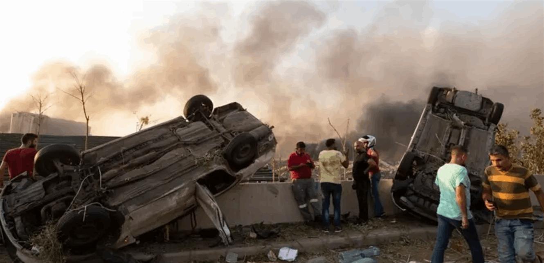 """هل تتكرر مأساة """"مرفأ بيروت""""؟.. ضبط 20 طنا من """"نترات الأمونيوم"""" شديدة الانفجار (فيديو)"""