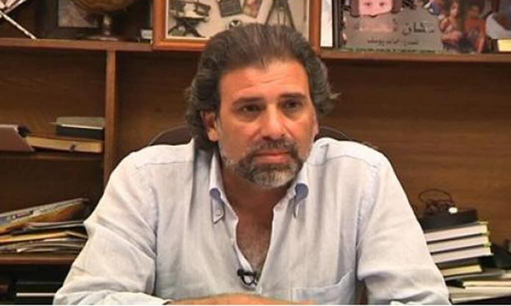 """شاهد  أول ظهور لـ""""خالد يوسف"""" بعد فضيحة الأفلام الجنسية: أتّهم هؤلاء بتسريب الفيديوهات"""