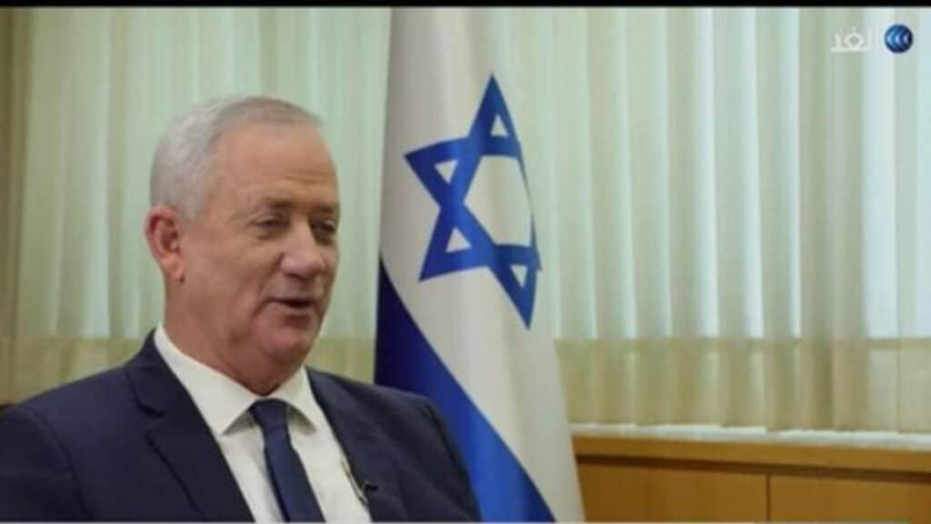 """قناة """"الغد"""" الدحلانية تؤكد صهيونيتها وترفض الاعتذار عن استضافة مجرم الحرب الإسرائيلي غانتس!"""