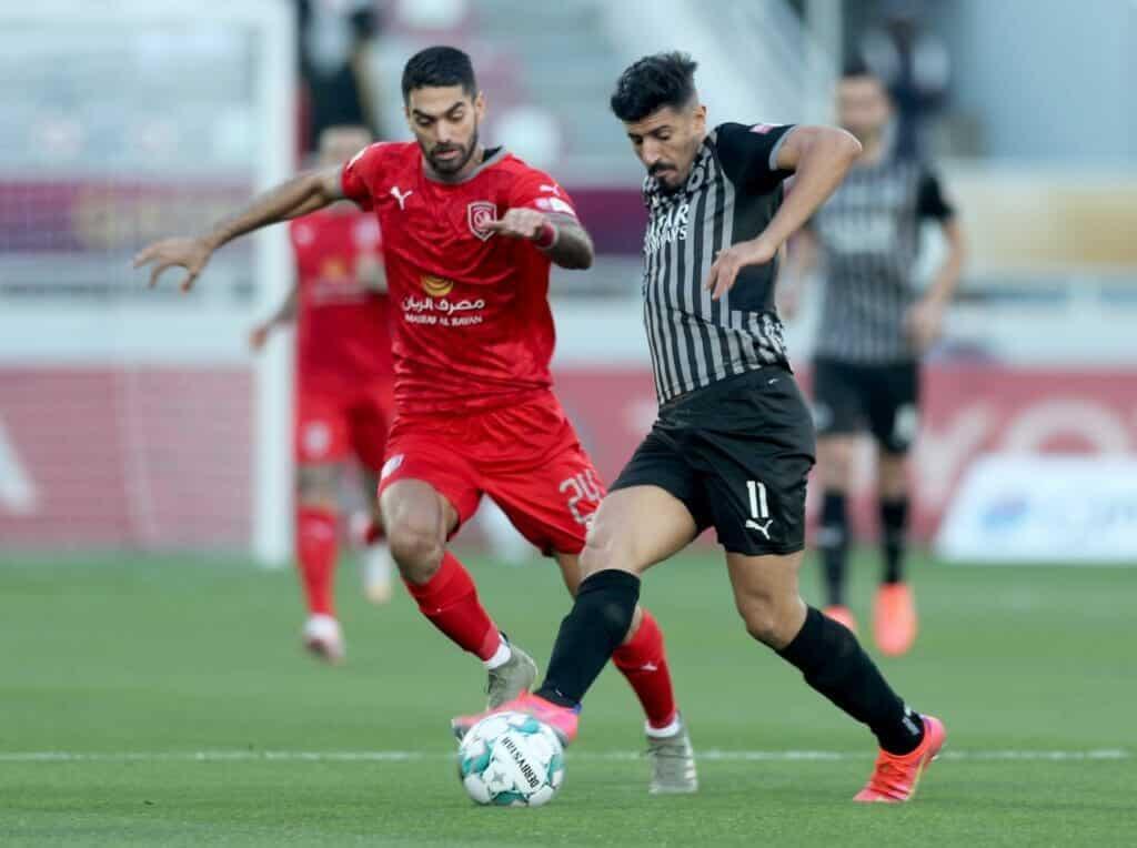"""ثنائية """"بغداد بونجاح"""" تمنح السد القطري لقب كأس قطر في منافسة مثيرة أمام الدحيل"""