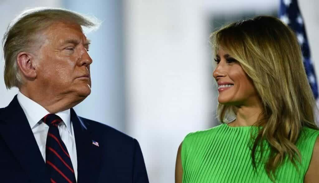 بشكل سري.. هذا ما فعله ترامب وزوجته ميلانيا قبل خروجهما من البيت الأبيض