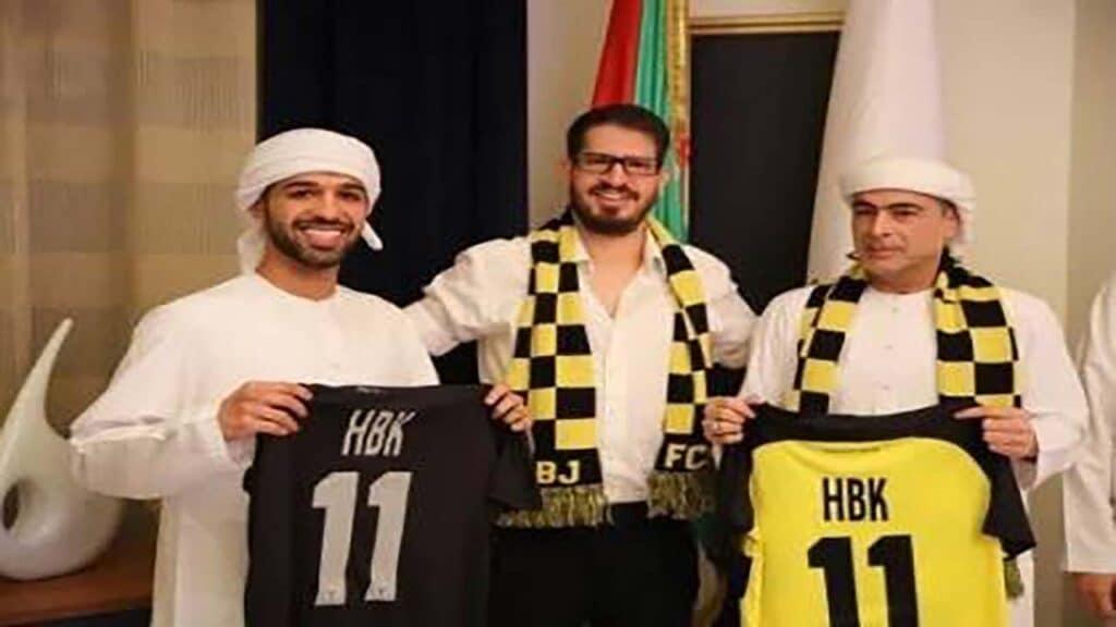"""نادي """"بيتار القدس"""" الإسرائيلي يُحرج الإمارات وهذا ما فعله مع حمد بن خليفة آل نهيان"""