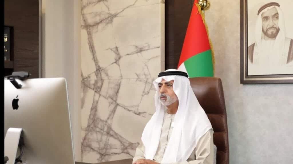 وزير التسامح الإماراتي نهيان بن مبارك يثير الجدل بأحدث ظهور بعد فضيحة التحرش الشهيرة