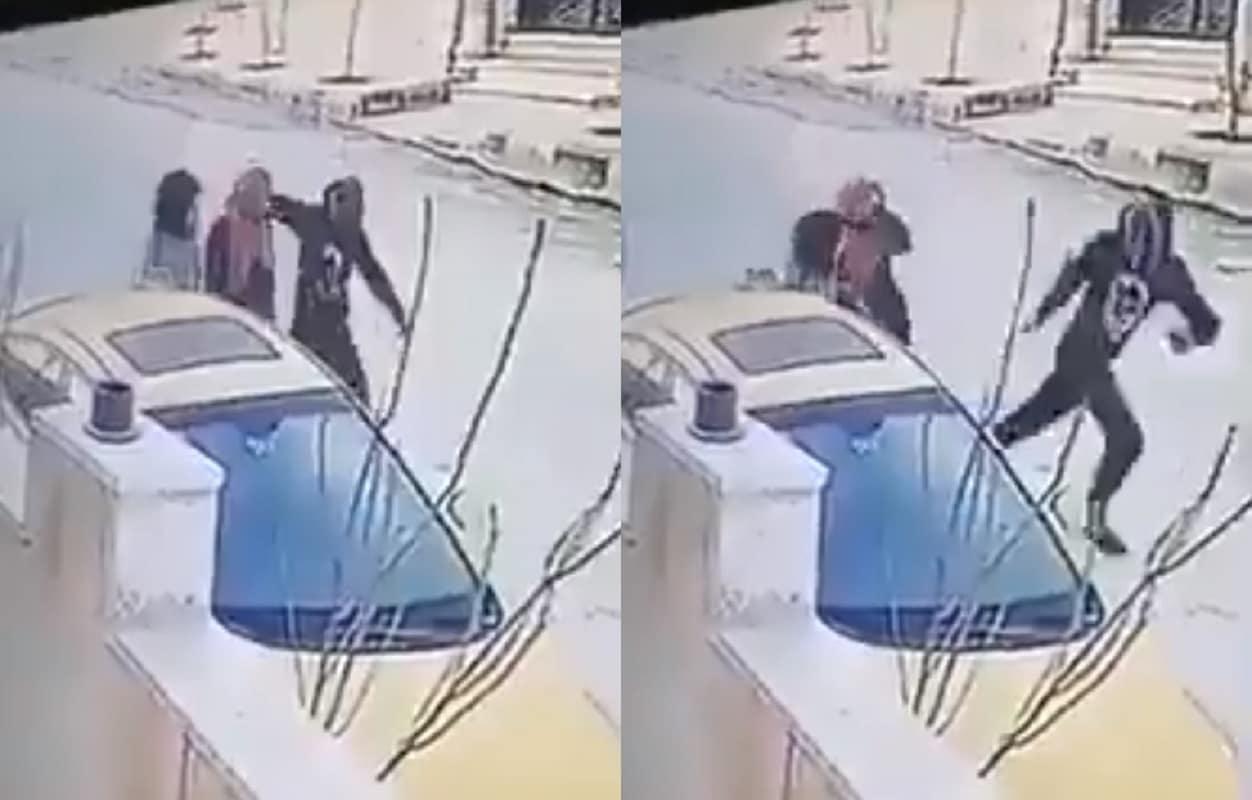 فيديو صادم من الأردن .. شاب يشوه وجه فتاة بأداة حادة ويهرب!