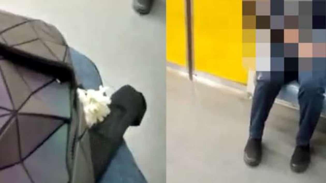 مصرية توثق لحظة التحرش بها داخل عربة السيدات في المترو وتثير ضجة واسعة