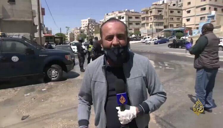 تامر الصمادي مراسل الجزيرة في الأردن