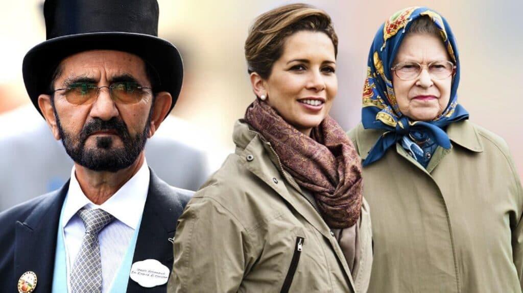 التايمز تكشف فضيحة جديدة لحاكم دبي.. ما علاقة الأميرة هيا والملكة إليزابيث الثانية