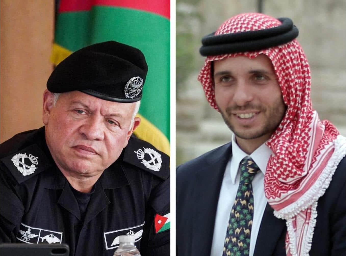 الملك عبدالله الثاني و الأمير حمزة لا يتكلمان مع بعضهما .. تقرير أمريكي يكشف سبب الأزمة في الأردن