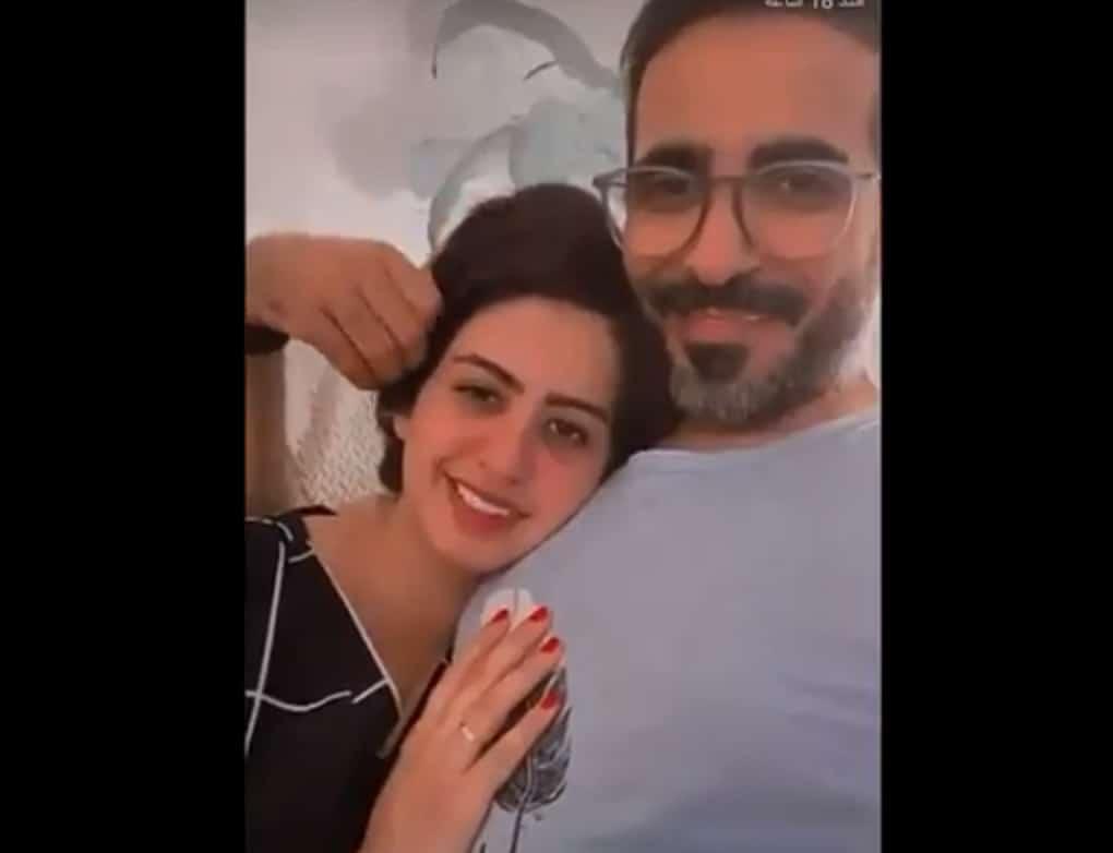 """""""لم تدفعوا لنا لنقدم لكم محتوى"""".. الاعلامي محمد العمر يظهر مع زوجته بفيديو حميمي!"""