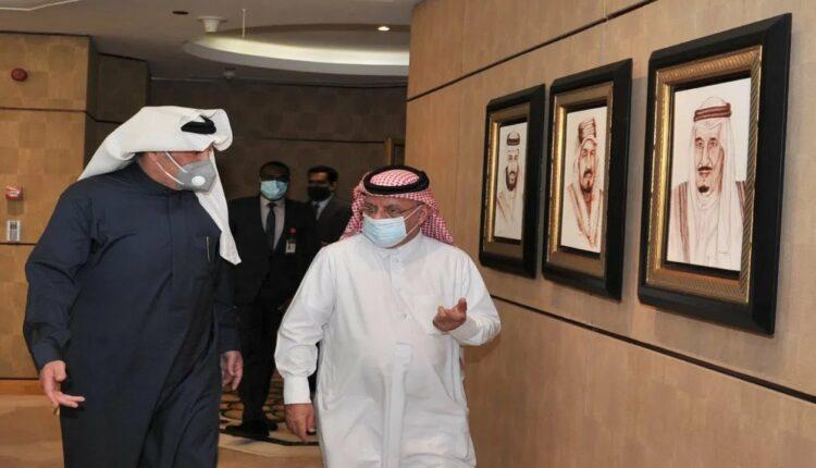 سفيرا قطر والسعودية في مصر