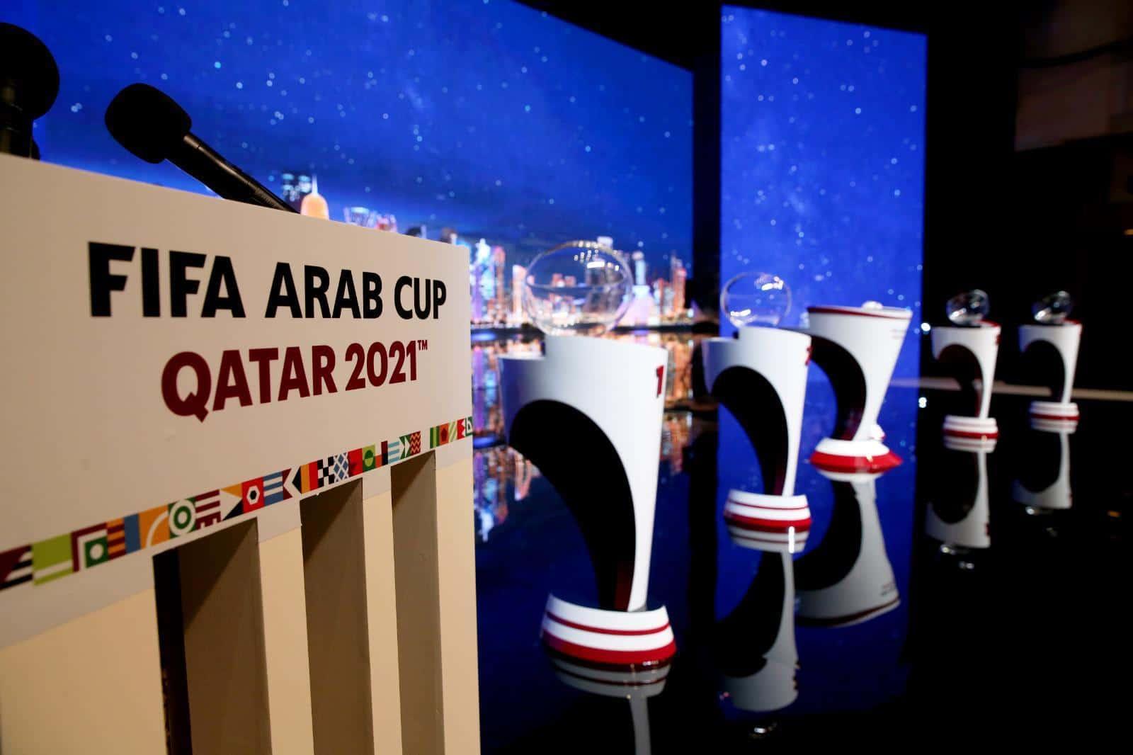شاهد قرعة كأس العرب 2021 للمنتخبات في قطر .. الدوحة جمعت العرب
