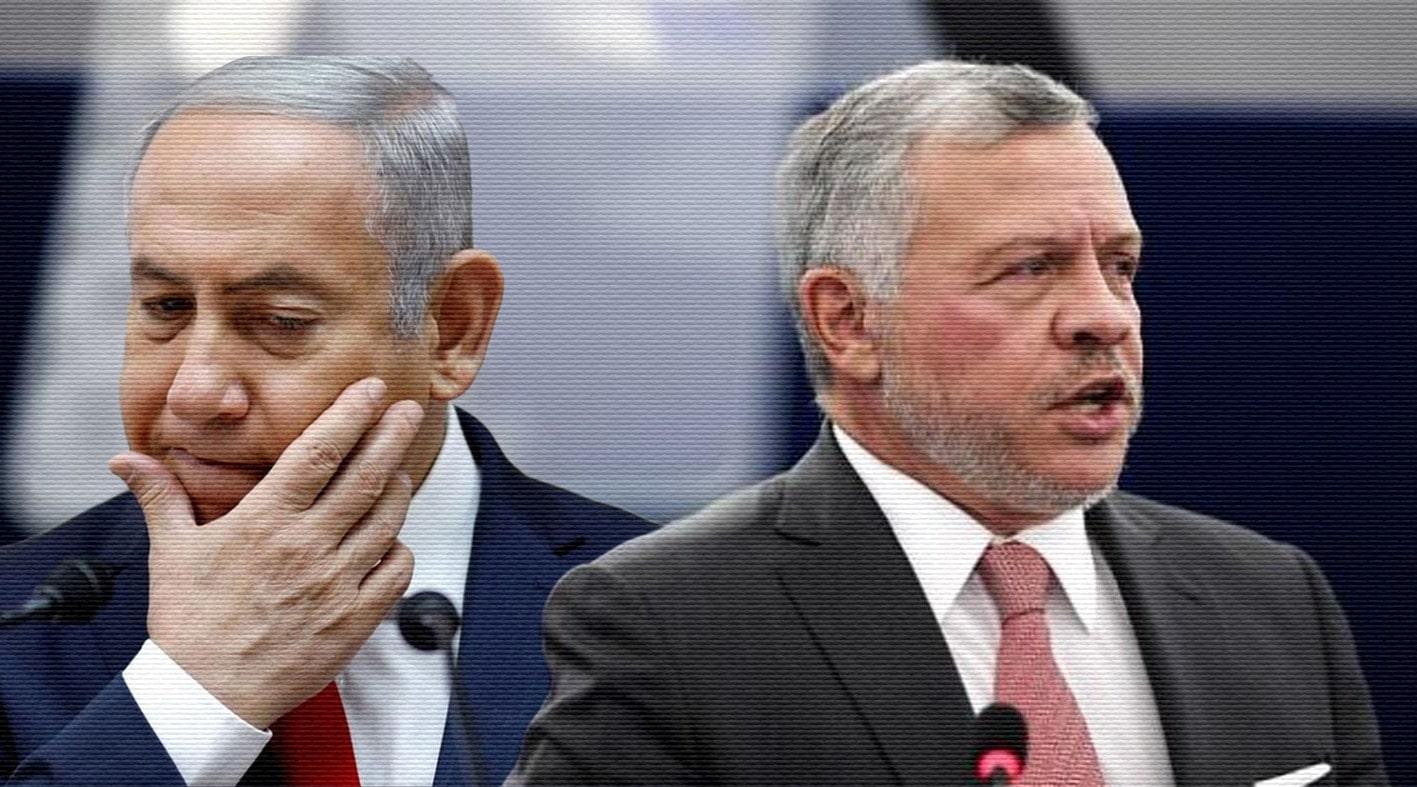"""""""لم يعد الأردن أختنا الصغيرة"""".. مسؤولون إسرائيليون غاضبون مما فعله نتنياهو مع الملك عبدالله"""