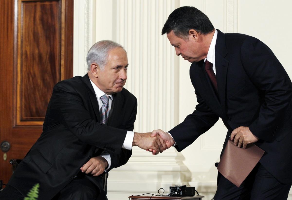 نتنياهو يغازل الملك عبدالله الثاني بعد فشل الانقلاب ويتخذ هذا القرار المفاجئ